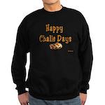 JEWISH HAPPY CHALLE HOLIDAYS Sweatshirt (dark)