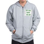 IT'S ALL GEEK TO ME Zip Hoodie