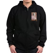 A Yiddish Cup Zip Hoodie