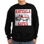 Hatzala Saves Sweatshirt (dark)