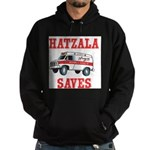 Hatzala Saves Hoodie (dark)
