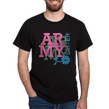Army Sister - Pink T-Shirt