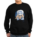 Yiddish Little Macher Sweatshirt (dark)