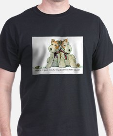 Fox Terrier Friends T-Shirt