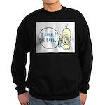 I Babble The Babble Sweatshirt (dark)