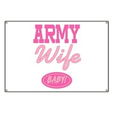 Army Wife Baby! Banner