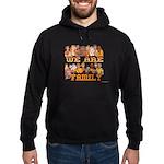 Jewish We Are Family Hoodie (dark)