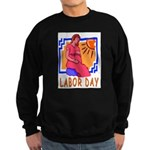 Maternity Labor Day Sweatshirt (dark)