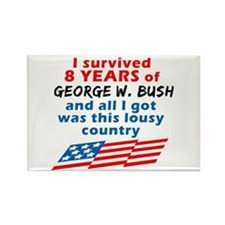 I Survived Bush... Country Rectangle Magnet