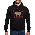 Wombat University Hoodie (dark)