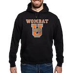 Wombat U III Hoodie (dark)