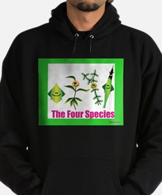 The Four Species Sukkot Hoodie (dark)