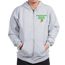 World;s Best Sukkah Builder Zip Hoodie