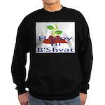 Happy Tu B'Shvat Sweatshirt (dark)