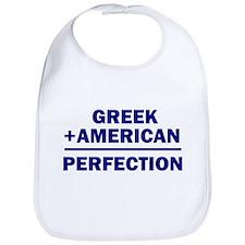 Greek American Bib