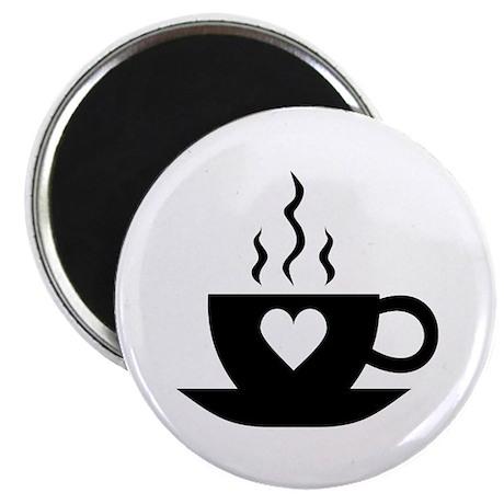 "Love Coffee 2.25"" Magnet (100 pack)"