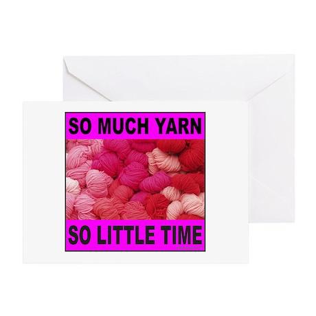 YARN/KNITTING Greeting Card