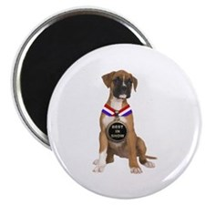 Best In Show Boxer Magnet