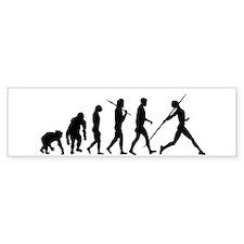 Javelin Evolution Bumper Sticker