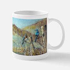 Cute Eastern bluebird Mug