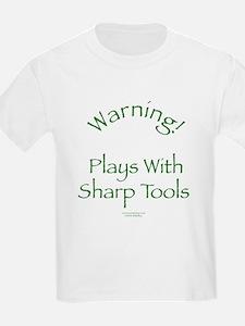 Warning - Sharp Tools T-Shirt