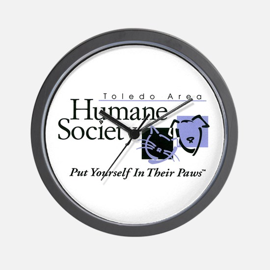 Unique Humane society Wall Clock
