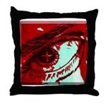 The Blood Covers!!! Throw Pillow