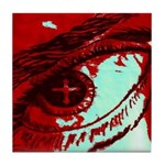 The Blood Covers!!! Tile Coaster