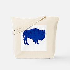 Buffalo Snow Tote Bag