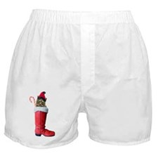 Cat in Boot Boxer Shorts