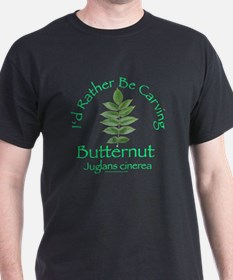 Rather Be Carving Butternut T-Shirt