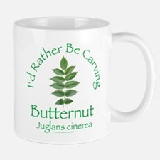Rather Be Carving Butternut Mug