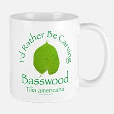 Rather Be Carving Basswood 1 Mug