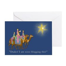 Funniest Three Wise Men Holiday Greeting Card