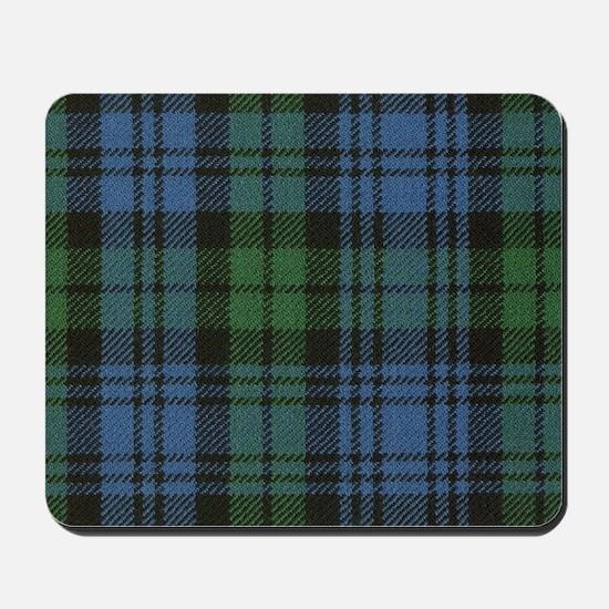 Clan Campbell Tartan Mousepad