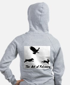 JRT and Falconry Back Zip Hoodie