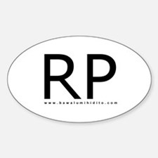 RP Oval Decal