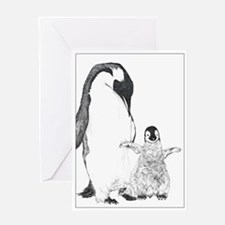 Penguins Greeting Card