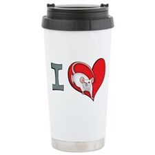 I heart mice Travel Mug