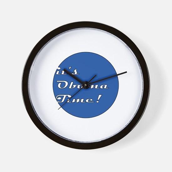 Funny Obama victory Wall Clock