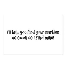 Psych-Finding Marbles Postcards (Package of 8)