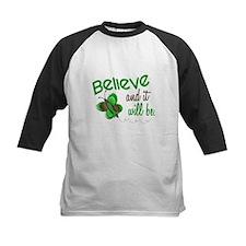 Believe 1 Butterfly 2 GREEN Tee