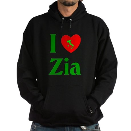 I (heart) Love Zia Hoodie (dark)