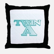 TWIN A  Throw Pillow