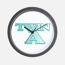 TWIN A  Wall Clock