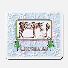 Happy Mule, Tied... Mousepad