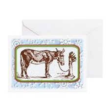 Happy Mule, Tied... Greeting Cards (Pk of 20)