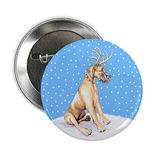 "Great Dane Deer Fawn UC 2.25"" Button"