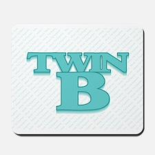 TWIN B Mousepad