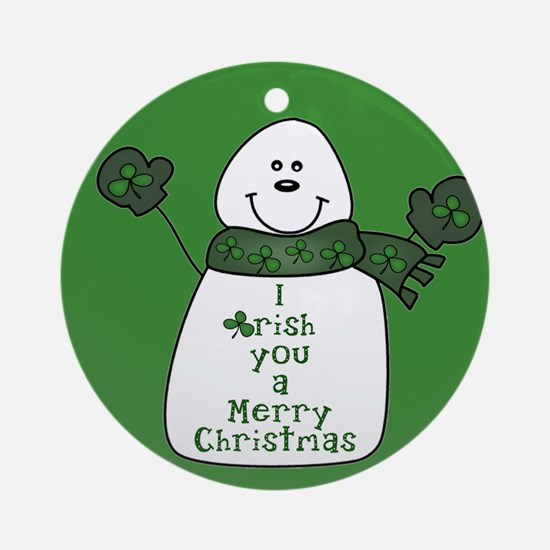 Irish You a Merry Christmas Ornament